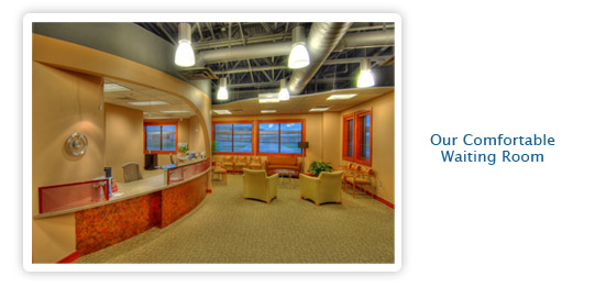 indoor image of Lobby at Great Plains Dental Office in Sioux Falls SD